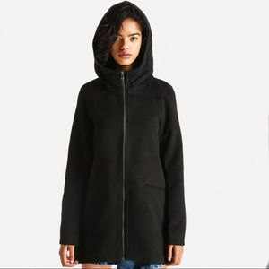ONLY  black Dogville Coat size M